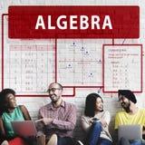 Algebra Mathematics Calculation Chart Concept Royalty Free Stock Photography