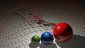 Algebra spheres stock footage