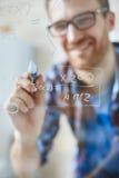 Algebraic formula Royalty Free Stock Images