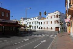 Algeciras oude stadsgebouwen Royalty-vrije Stock Foto's