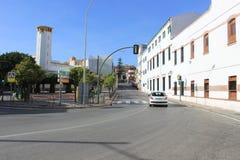 Algeciras oude stadsgebouwen Stock Foto's