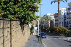 Algeciras straatfoto Stock Afbeelding