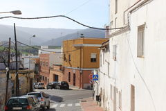 Algeciras street photo Royalty Free Stock Photos