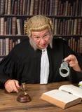 Algemas da exibição do juiz foto de stock royalty free