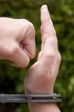 Algemas da mão do punho Fotografia de Stock Royalty Free