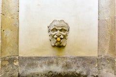 Algemeen Archief van de Kroon van Aragon - Barcelona stock foto's