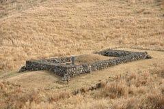 Algemeen die Graf door basalt wordt gemaakt stock afbeelding