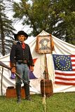 Algemeen gelijkaardig George Armstrong Custer Stock Foto
