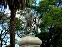 Algemeen Manuel Belgrano Statue in Tucumà ¡ n, Argentinië Royalty-vrije Stock Foto's