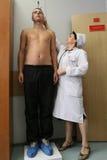 Algemeen medisch onderzoek op het rekruteringscentrum Royalty-vrije Stock Afbeelding