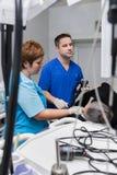 Algemeen medisch onderzoek van de patiënt stock fotografie