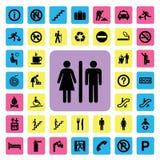 Algemeen pictogram stock illustratie