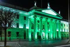 Algemeen postkantoor dublin ierland royalty-vrije stock foto