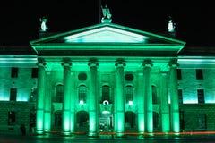 Algemeen postkantoor dublin ierland royalty-vrije stock foto's