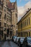 Algemeen Rijksarchief van Hongarije, Boedapest royalty-vrije stock foto's