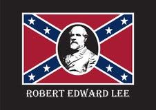 Algemeen Robert Edward Lee Royalty-vrije Stock Afbeeldingen