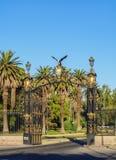 Algemeen San Martin Park in Mendoza, Argentinië stock afbeeldingen