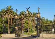 Algemeen San Martin Park in Mendoza, Argentinië royalty-vrije stock afbeelding