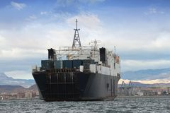 Algemeen vrachtschip Royalty-vrije Stock Afbeelding