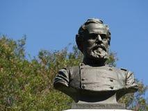 Algemene John E Smith Bust Memorial Civil War Stock Afbeelding