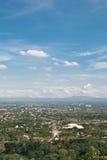 Algemene luchtmening van stad Stock Fotografie
