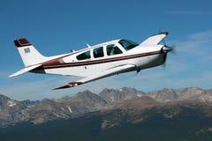 Algemene Luchtvaart - Beechcraft-Bonanza Stock Afbeelding