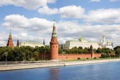Algemene mening in Moskou het Kremlin in Rusland Stock Fotografie