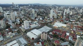 Algemene mening van de stad van Panama Stock Afbeeldingen