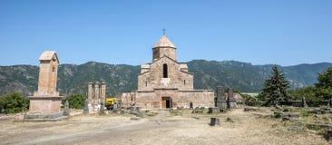 Algemene mening van het Odzun-Klooster Royalty-vrije Stock Foto