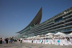 De Renbaan van Meydan Stock Foto's