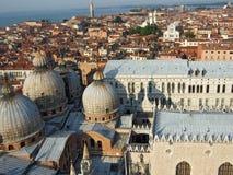 Algemene mening van Venetië Italië royalty-vrije stock fotografie