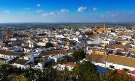 Algemene mening van woondistricten van Osuna Andalucia Stock Foto