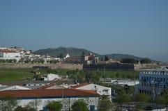 Algemene Meningen van de Ommuurde Stad in Elvas stock foto
