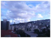 Alger. Beautiful picture of algiers city stock photography