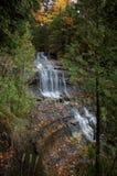 Alger Falls in Autumn.  Royalty Free Stock Photos