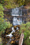 Alger Falls dans Munising, Michigan Image libre de droits