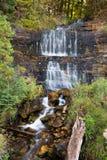 Alger Falls i Munising, Michigan Royaltyfri Bild