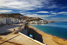 Alger la capitale de l'Algérie Image stock