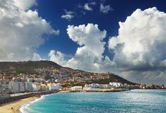 algeria algiers stad royaltyfria bilder