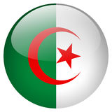 Algeria Button. On white background Stock Photo