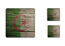 Algeria Flag Buttons Royalty Free Stock Image