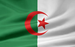 algeria flagga Arkivfoton