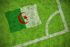 Algeria national flag Stock Images