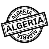 Algeria rubber stamp. Grunge design with dust scratches. Effects can be easily removed for a clean, crisp look. Color is easily changed vector illustration