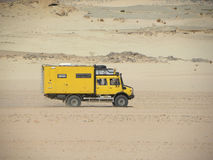 Algeria safari truck Stock Images