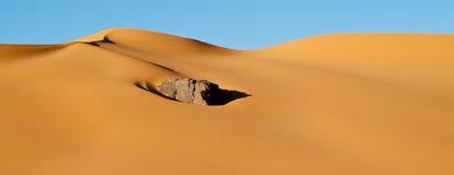 Algeria Sahara desert landscape Stock Photos