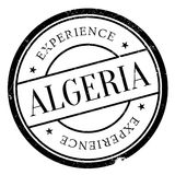 Algeria stamp rubber grunge Royalty Free Stock Images