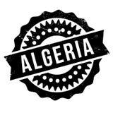 Algeria stamp rubber grunge Stock Image