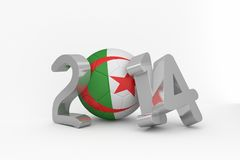 Algeria world cup 2014 Royalty Free Stock Images