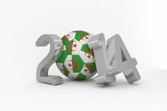 Algeria world cup 2014 Royalty Free Stock Photos
